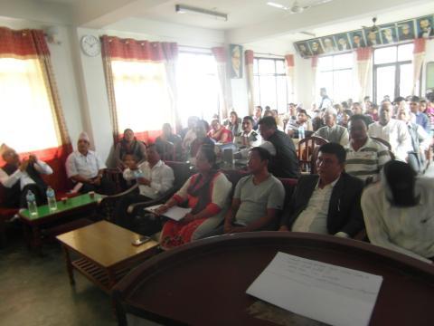 समीक्षा बैठकमा सहभागीहरु